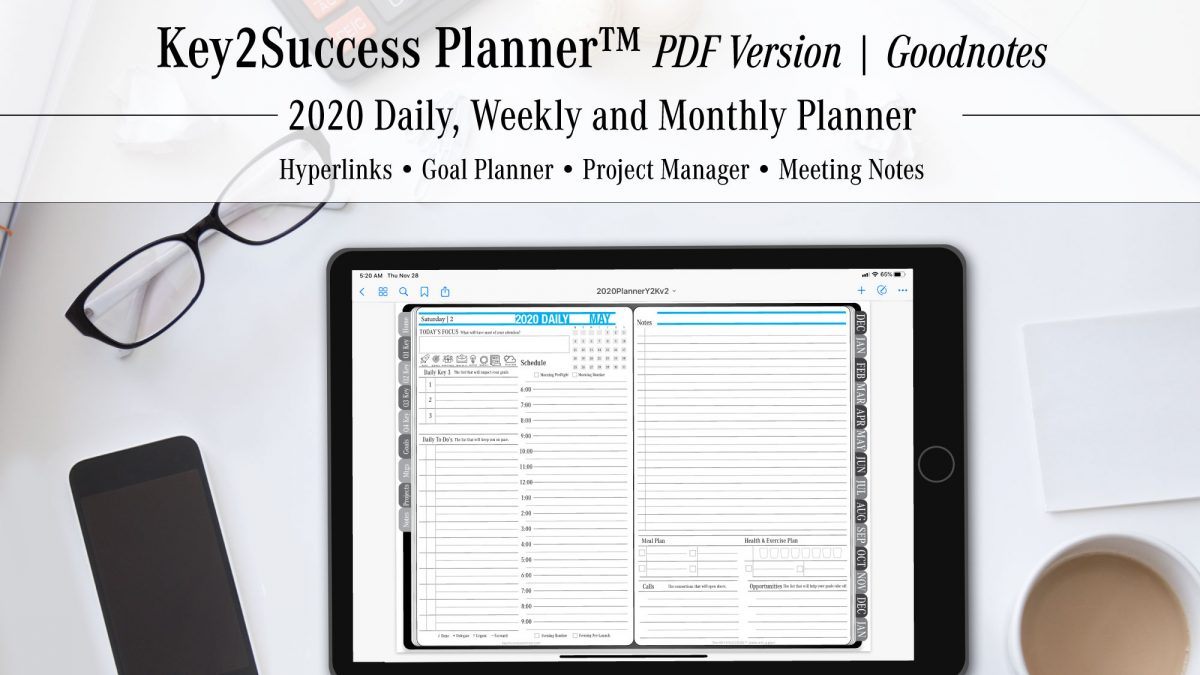 2020 Digital Planner for GoodNotes Released