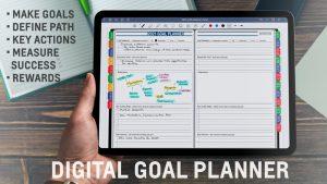2021 GoodNotes Digital Goal Planner