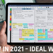 GoodNotes Ideal Week Planning