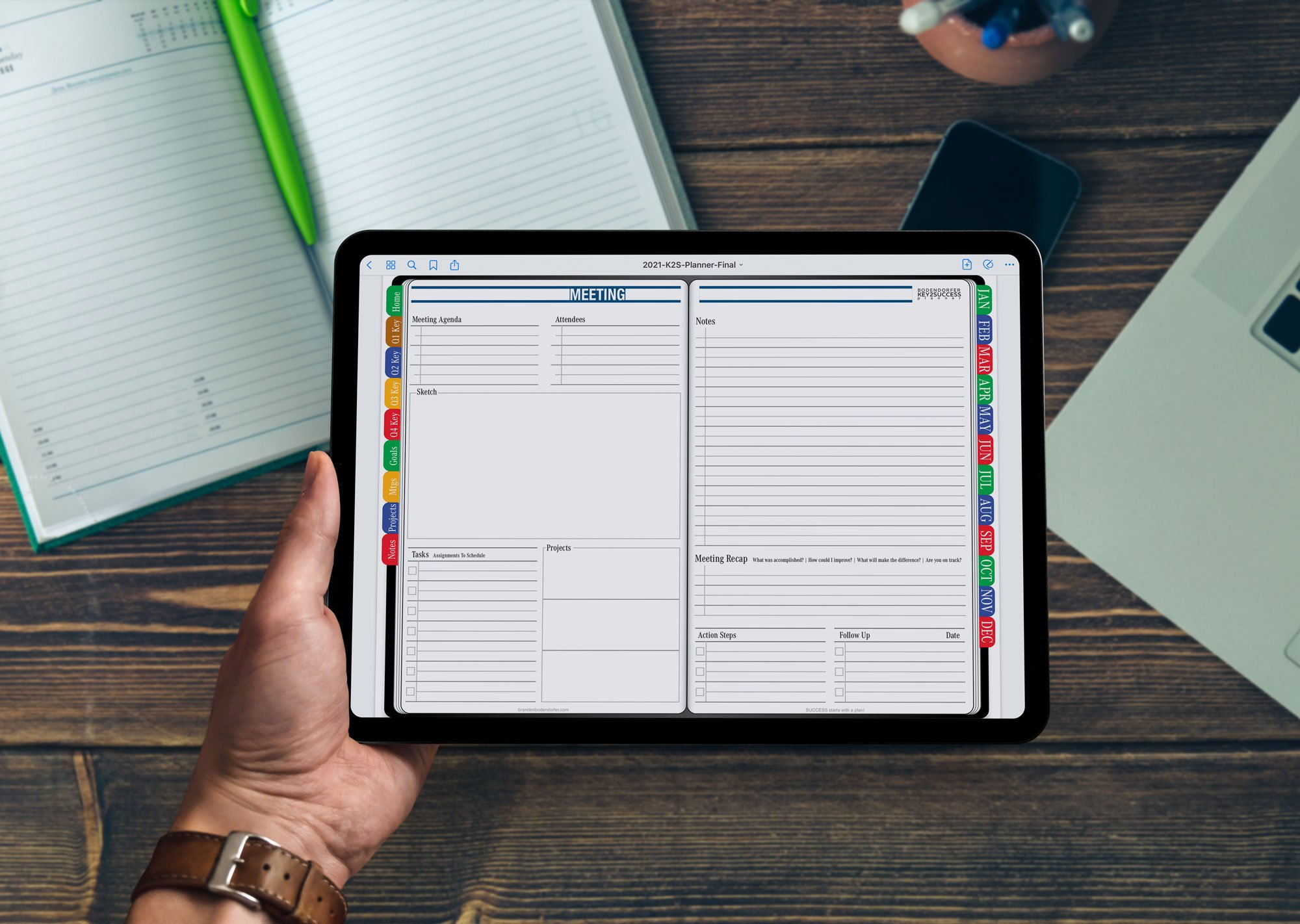 2021 Digital Meeting Planner