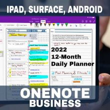 Product-2022-OneNote-Business-Digital-Planner
