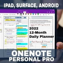 Product-2022-OneNote-Personal-Pro-Digital-Planner