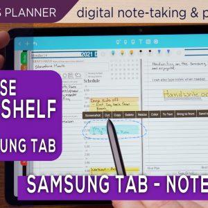 Noteshelf Digital Planners