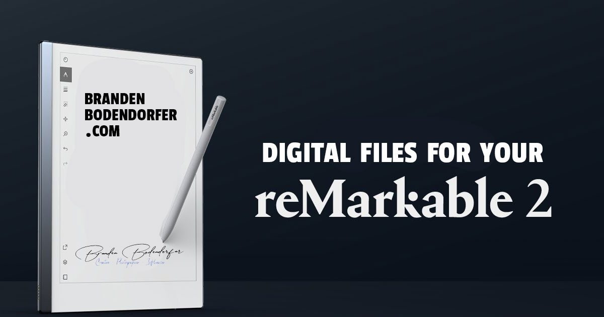 Products You Can Use on Your ReMarkable 2