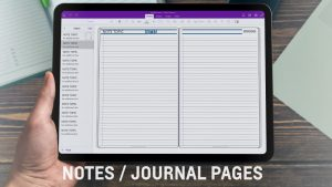 Notes-Journal-Page
