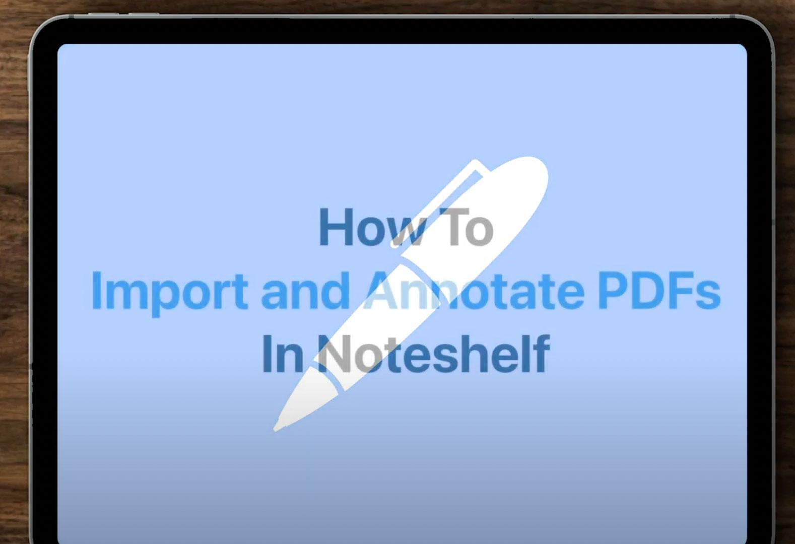 How-To-Import-PDF-INTO-Noteshelf