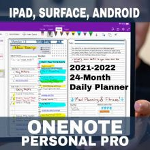 Product-2021-2022-OneNote-Personal-Pro-Digital-Planner