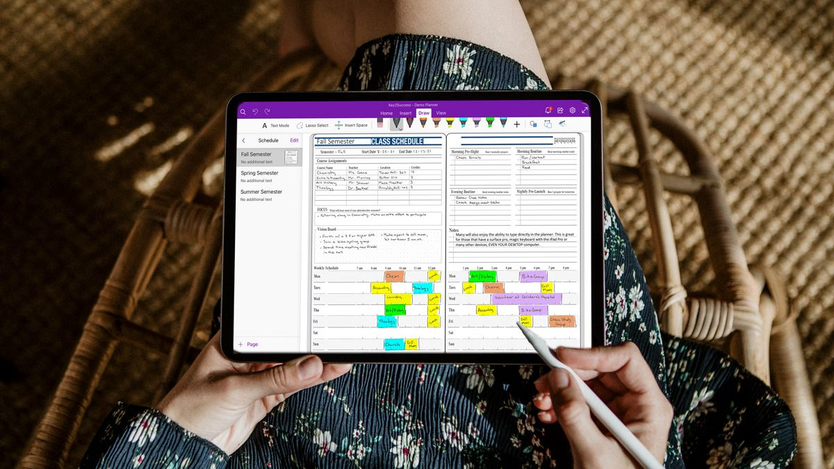 Key2Success 2021-22 Digital Academic Planner for OneNote Launched