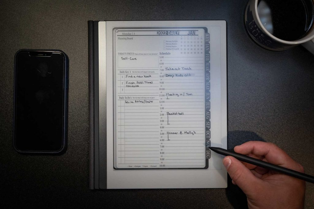 reMarkable 2022 Digital Portrait Digital Planner
