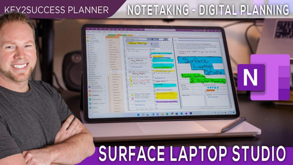 Surface-Laptop-Studio-Notetaking-Digital-Planning